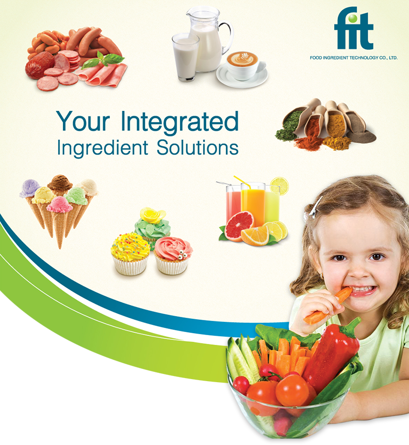 Your Integrated Ingredient Solutions